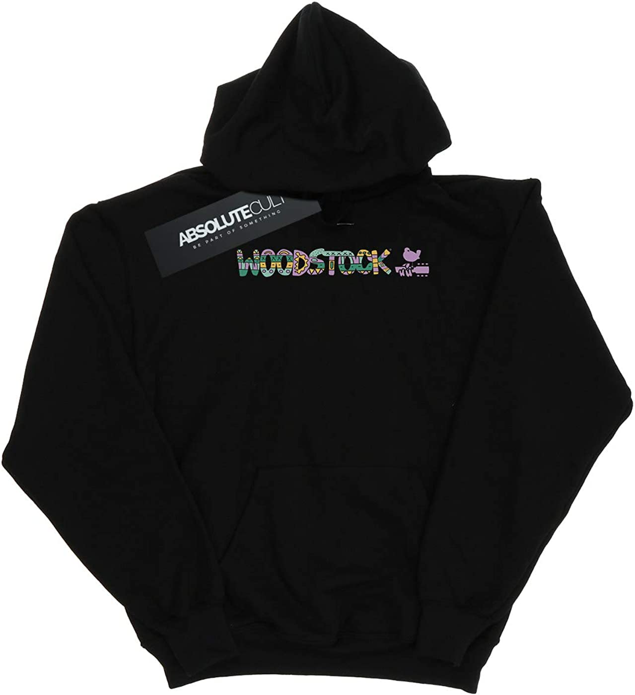 Woodstock Girls Aztec Logo Hoodie