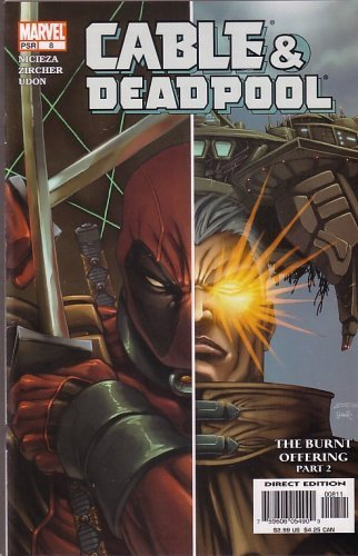 Cable & Deadpool, #8 (Comic Book): THE Burnt Offering, Part 2