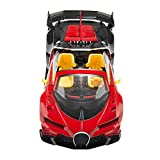 Picture Of Lightning Red Radio Remote Control 1:14 Grand Sport Convertible RC Model Car