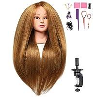 SILKY Long Hair Mannequin Heads