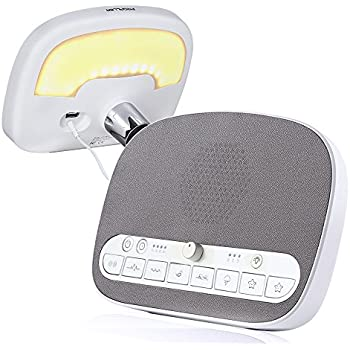 Amazon Com White Noise Machine Sleep Sound Machine