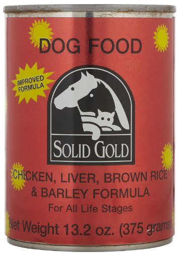 Solid Gold 937204 12-Pack Chicken And Liver Canned Food For Dogs, 13.2-Ounce