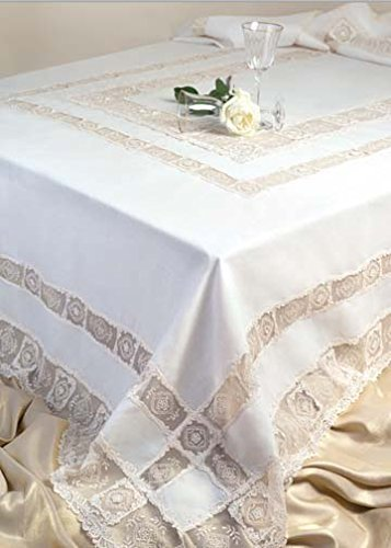 (Roseberry Linen La Vista Supreme 6-Piece Napkins, 18 by 18-Inch, Ivory)