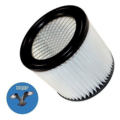 Around Plus Wet Dry Vacuum (HQRP Cartridge Filter for Shop-Vac E87S450 E87S550A QAL80 QAL80A QAM70 All Around Series Wet / Dry Vacuum + HQRP Coaster)