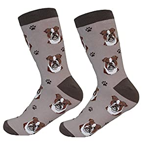 Bulldog Socks - Soft and Comfortable - Unisex 2