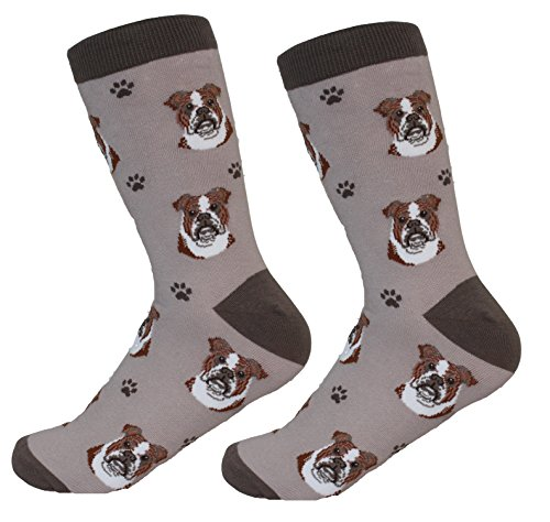 Bulldog Socks - Soft and Comfortable - -