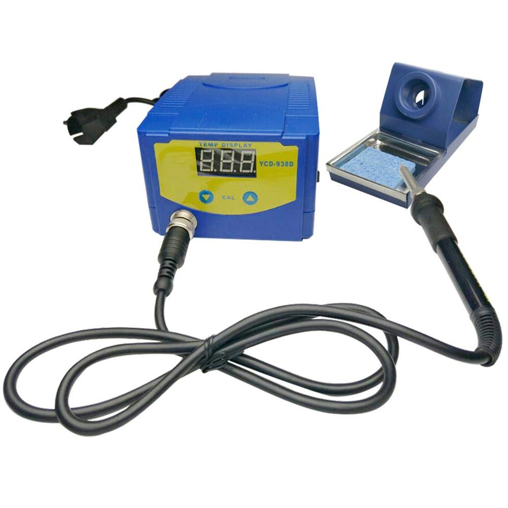 UNIhappy New 938D 75W Digital Display Soldering Iron Station Timer Dormancy Welding Tool by UNIhappy (Image #1)