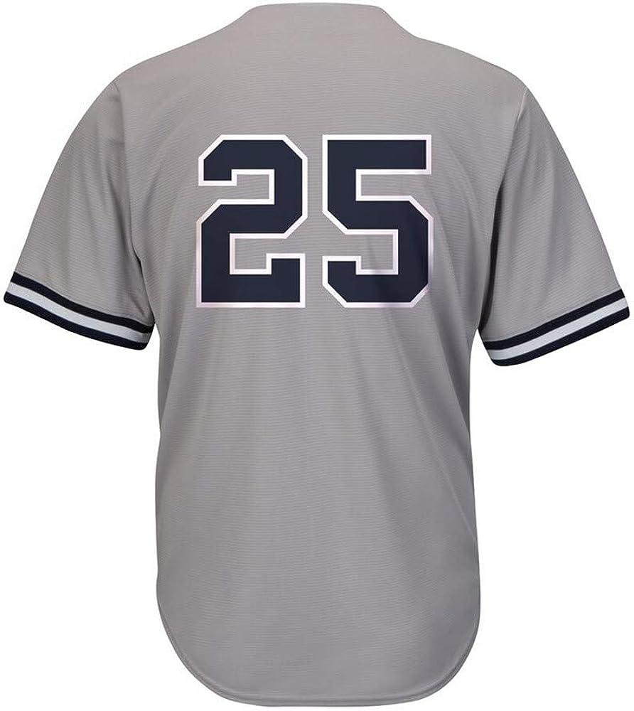 #25 Gleyber/_Torres Cool Base Baseball Jersey for Men