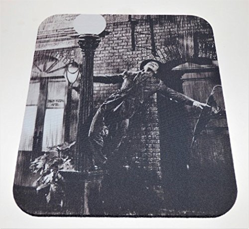 SINGING IN THE RAIN COMPUTER MOUSE PAD