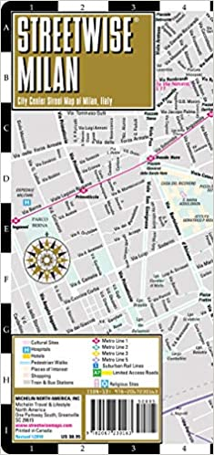 streetwise venice map laminated city center street map of venice italy michelin streetwise maps
