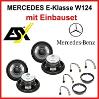 ESX Qe120 Rear Speaker Set For Mercedes W124 1984-1997N E-Klasse
