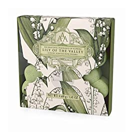 Aromas Artesanales De Antigua Lily of the Valley Bath Fizzer 4 x 40g