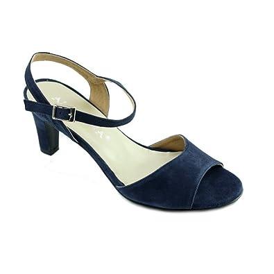 Angelina® LAUDE Sandale raffinée Bout Rond Petit Talon Marque Chaussure  Femme Petite Pointure fabriqué Espagne 17a9d2ff1e67
