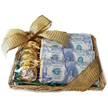Stimulus Package Gift Basket - Recession Gift, Chocolate Money