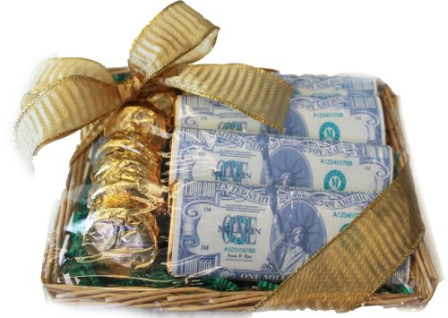 How To Give Money As A Wedding Gift: Stimulus Package Present Basket