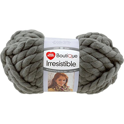 Red Heart Yarn Red Heart Irresistible Yarn Grey