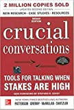 img - for [By Kerry Patterson ] Crucial Conversations Tools for Talking When Stakes Are High, Second Edition (Paperback) 2018 by Kerry Patterson (Author) (Paperback) book / textbook / text book