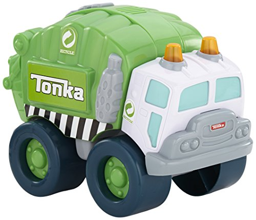 Tonka Light and Sound Wobble Wheels Garbage Truck, Green (Kids Tonka Trucks compare prices)