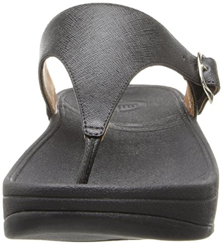 Women Flop Skinny The Flip FitFlop Black Deluxe APOdxAp