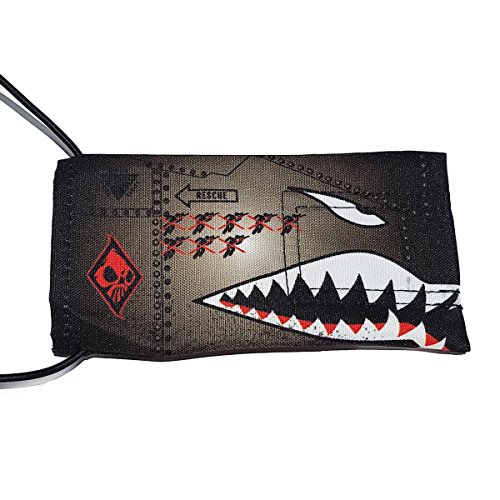 Wicked Sports Paintball Barrel Cover/Sock - Sharktooth - - Barrel Sock