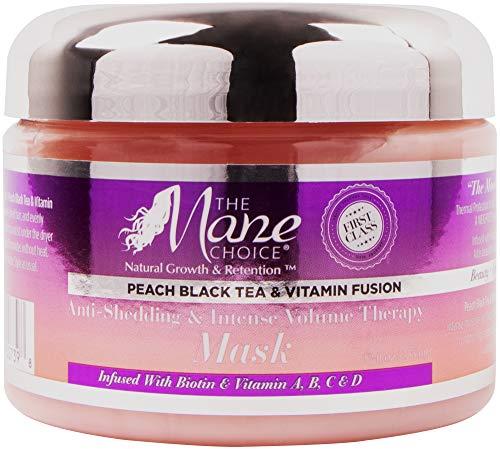 Mane Treatment - THE MANE CHOICE - Peach Black Tea Vitamin Fusion Mask, 12 Oz