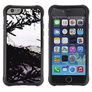 Suave TPU GEL Carcasa Funda Silicona Blando Estuche Caso de protección (para) Apple Iphone 6 / CECELL Phone case / / Tree Nature Sea View /