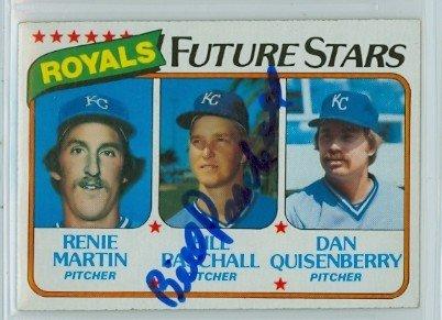 - Bill Paschall AUTOGRAPH 1980 Topps #667 Kansas City Royals ROOKIE