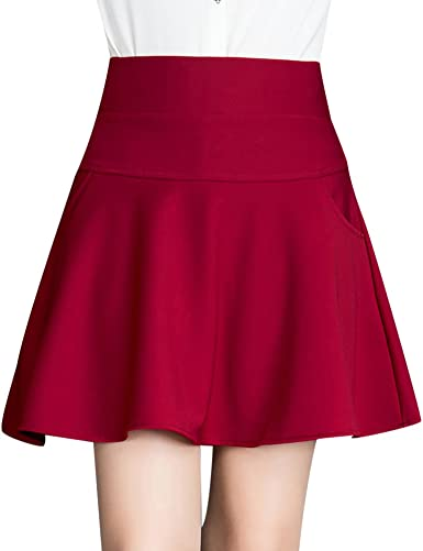 Falda Mujer Chicas Delgado Minifalda Moda Elástica Corto Vestidos ...