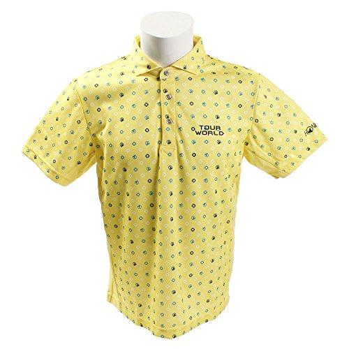 ホンマゴルフ(ホンマゴルフ) コモンモグラプリントシャツ 831-419104 YE