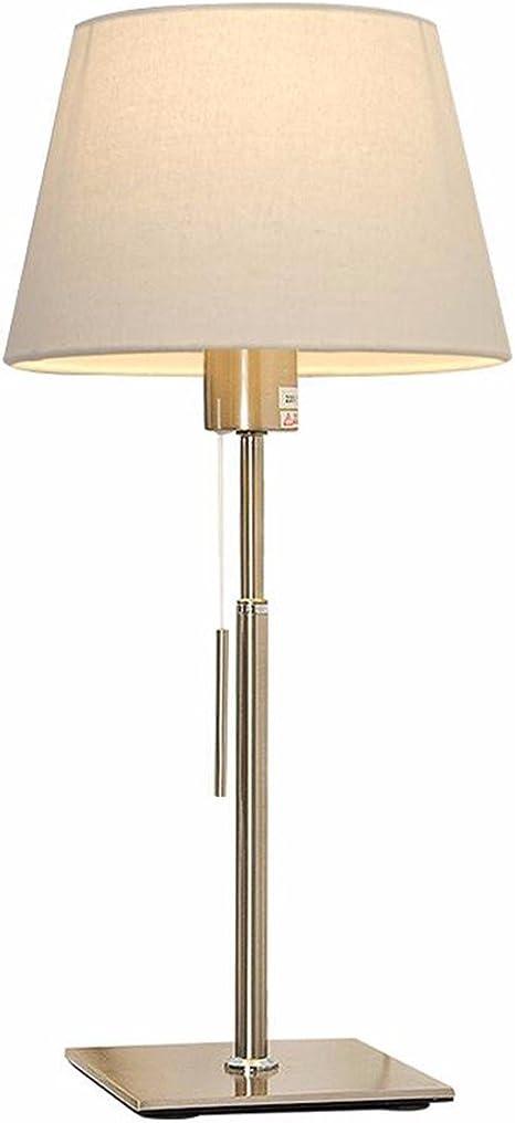 QPGGP-Lámpara de mesa El dormitorio lampara velador Lampara de la ...