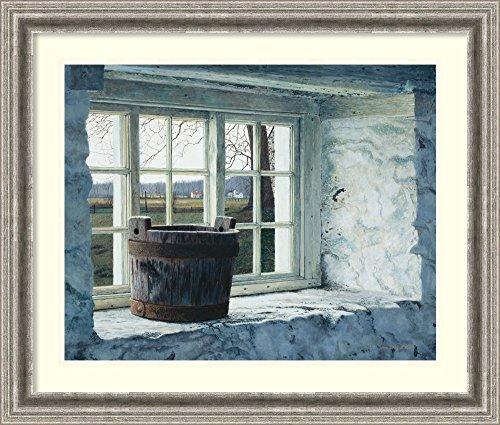 (Framed Wall Art Print | Home Wall Decor Art Prints | Springhouse Window by Tim Barr | Casual Decor)
