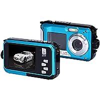 Boyiya High Definition Double Screen Waterproof Camera 24MP 16x Digital Zoom Dive Camera