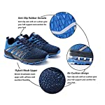 Axcone Homme Femme Air Running Baskets Chaussures Outdoor Running Gym Fitness Sport Sneakers Style Multicolore… 8