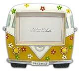 Bollo Regalo White/Yellow VW Bus Photo Frame 6x4 2R179337-2Y