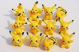 12pcs/lot Pokemon Pikachu Mini Action Figures PVC Doll Collections Toys Anime Cartoon Toy