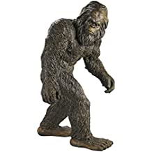 Design Toscano Yeti the Bigfoot Garden Statue, Large 28 Inch, Polyresin, Full Color