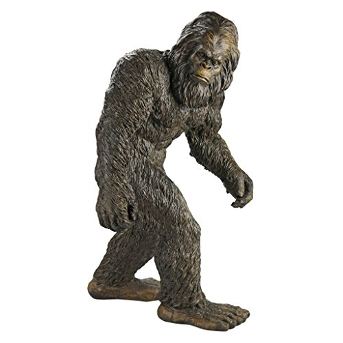 Design Toscano Yeti The Bigfoot Garden Statue, Large 28 Inch, Polyresin, Full Color ()