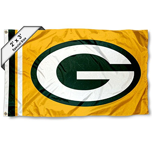 WinCraft Green Bay Packers 2x3 Feet Flag