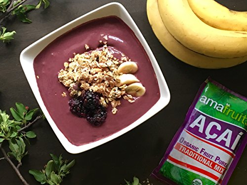 Amafruits Acai Traditional Mix with Guarana - 144 Smoothie Packs by Amafruits (Image #3)