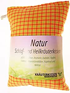 Almohadas con relleno con Natural hierbas medicinales/Natural A Base de Plantas Medicinales almohadas, aprox. 25x 20cm nº 182