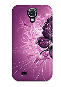 Galaxy S4 Cover Case - Eco-friendly Packaging(butterfly )