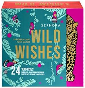 OXYBIOS Nuevo! Sephora Wild Wishes 24 Beauty Surprises Calendario De Adviento, Valor 150 €, Calendario Cosmético para Mujeres Y Hombres