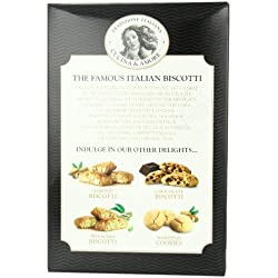 Cucina and Amore Biscotti Cookie, Cranberry Almond, 6.3 Ounce
