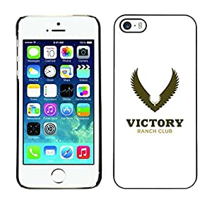 PC/Aluminum Funda Carcasa protectora para Apple Iphone 5 / 5S victory Wing / JUSTGO PHONE PROTECTOR