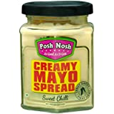 Posh Nosh Creamy Mayonnaise Spread 230 gm (Sweet Chilli Flavour)