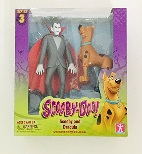 (Scooby Doo! Series 3 Scooby and Dracula Action Figures )