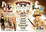 Western TV Round Up 85 TV Episodes DVD Set - The Roy Rogers Shows, The Cisco Kid, Death Valley Days, The Adventures of Champion, Rat Mesterson, The Rifleman, The Lone Ranger, Bonanza