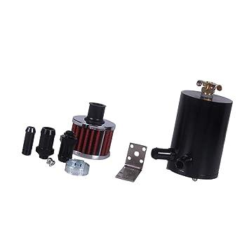 Sharplace Filtro de Tanque de Captura Separador de Aceite para Coche Universal: Amazon.es: Coche y moto