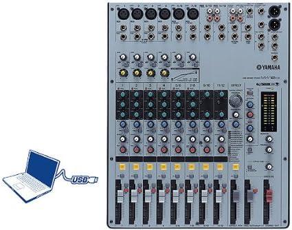 Yamaha MW12CX - Mesa de mezclas (con conexión USB): Amazon.es ...