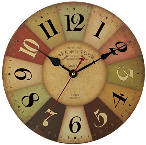 Adalene Decorative Movement Colorful Numerals product image